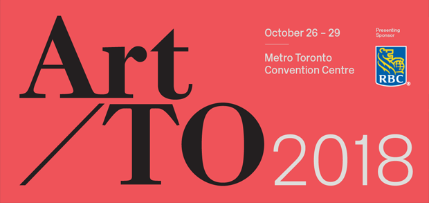 Art Toronto 2018 takes place Oct 26 - 29 in Toronto