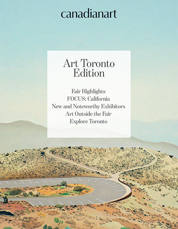 Canadian Art: Art Toronto Edition